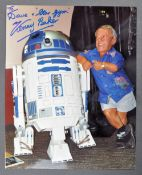 ESTATE OF DAVE PROWSE - KENNY BAKER DEDICATED PHOTOGRAPH