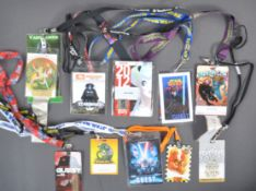 ESTATE OF DAVE PROWSE - VIP / SPECIAL GUEST CONVENTION LANYARDS