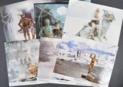 ESTATE OF DAVE PROWSE - SET OF SIX EMPIRE STRIKES BACK LOBBY CARDS