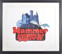 ESTATE OF DAVE PROWSE - HAMMER HOUSE OF HORROR ORIGINAL ARTWORK