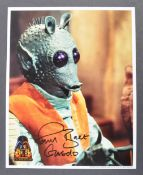 ESTATE OF DAVE PROWSE – STAR WARS CELEBRATION III SIGNED PHOTO