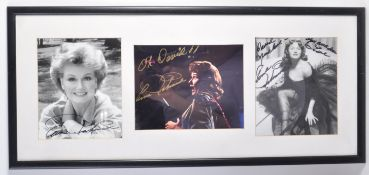 ESTATE OF DAVE PROWSE - ANN ROBINSON - WAR OF THE WORLDS AUTOGRAPHS