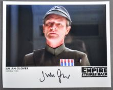 ESTATE OF DAVE PROWSE - STAR WAS - JULIAN GLOVER SIGNED PHOTO