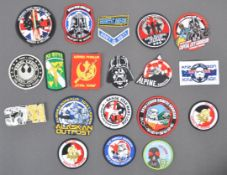 ESTATE OF DAVE PROWSE - COLLECTION OF STAR WARS RELATED PATCHES