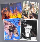 ESTATE OF DAVE PROWSE - STAR WARS - EWOK ACTOR AUTOGRAPHS