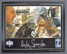 ESTATE OF DAVE PROWSE - STAR WARS - ANDY SECOMBE SIGNED PHOTO