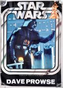 ESTATE OF DAVE PROWSE - STAR WARS CONVENTION POSTER
