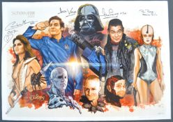 ESTATE OF DAVE PROWSE - MULTI-SIGNED CONVENTION POSTER