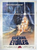 ESTATE OF DAVE PROWSE - LARGE FRENCH NEW HOPE 4 SHEET POSTER