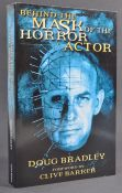 ESTATE OF DAVE PROWSE - DOUG BRADLEY (HELLRAISER) SIGNED BOOK