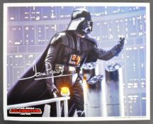 "ESTATE OF DAVE PROWSE - STAR WARS CELEBRATION - SIGNED 8X10"" PHOTO"