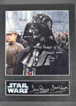 ESTATE OF DAVE PROWSE - OFFICIAL PIX SIGNED PHOTOGRAPH STAR WARS