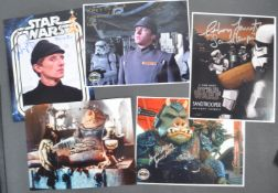 ESTATE OF DAVE PROWSE - STAR WARS - ASSORTED AUTOGRAPHS