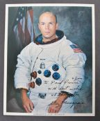 ESTATE OF DAVE PROWSE - F. STORY MUSGRAVE NASA SIGNED PHOTO