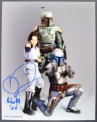 ESTATE OF DAVE PROWSE - STAR WARS - DANIEL LOGAN SIGNED PHOTO