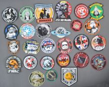 ESTATE OF DAVE PROWSE - COLLECTION OF STAR WARS PATCHES