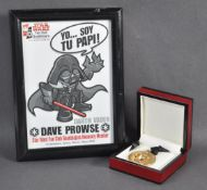 ESTATE OF DAVE PROWSE - STAR WARS - MEXICAN FAN CLUB AWARDS