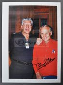 ESTATE OF DAVE PROWSE - BUZZ ALDRIN SIGNED PERSONAL PHOTOGRAPH