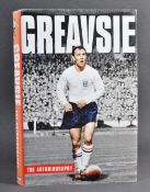 ESTATE OF DAVE PROWSE - JIMMY GREAVES - FOOTBALL SIGNED AUTOBIOGRAPHY