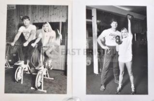 ESTATE OF DAVE PROWSE - ORIGINAL STAR GYM PROMOTIONAL PHOTOS