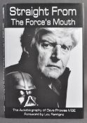 ESTATE OF DAVE PROWSE - MR PROWSE'S AUTOBIOGRAPHY SIGNED