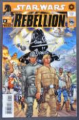 ESTATE OF DAVE PROWSE - STAR WARS REBELLION SIGNED COMIC BOOK