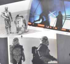 ESTATE OF DAVE PROWSE - COLLECTION OF VINTAGE PUBLICITY ITEMS