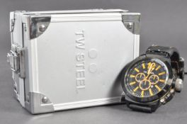 ESTATE OF DAVE PROWSE - PERSONALLY WORN TW STEEL WATCH