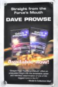 ESTATE OF DAVE PROWSE - STRAIGHT FROM THE FORCE'S MOUTH PROMO POSTER