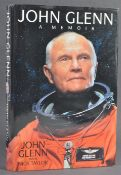 ESTATE OF DAVE PROWSE - NASA ASTRONAUTS TRIPLE SIGNED BOOK