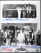 ESTATE OF DAVE PROWSE - STAR WARS - DUAL SIGNED PHOTOGRAPH