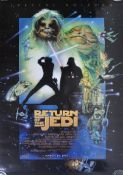 ESTATE OF DAVE PROWSE - RETURN OF THE JEDI - 1997 RE-RELEASE POSTER