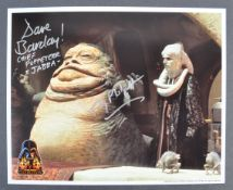 ESTATE OF DAVE PROWSE – STAR WARS OFFICIAL PIX CELEBRATION III DUAL SIGNED PHOTO