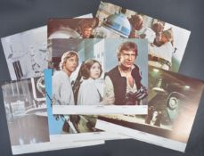 ESTATE OF DAVE PROWSE - STAR WARS SET OF LARGE LOBBY CARDS