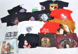 ESTATE OF DAVE PROWSE - COLLECTION OF PERSONALLY OWNED T SHIRTS