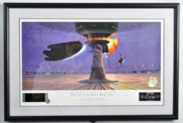 ESATE OF DAVE PROWSE - RALPH MCQUARRIE LTD ED LITHOGRAPH PRINT