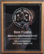 ESTATE OF DAVE PROWSE - STAR WARS - 501ST LEGION AWARD