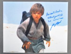 ESTATE OF DAVE PROWSE - JAKE LLOYD (ANAKIN) UNIQUELY SIGNED PHOTO