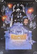 ESTATE OF DAVE PROWSE - EMPIRE STRIKES BACK 1997 SPECIAL EDITION POSTER