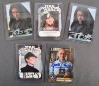 ESTATE OF DAVE PROWSE - STAR WARS - AUTOGRAPHED TRADING CARD COLLECTION