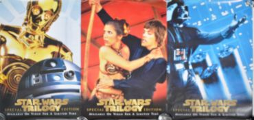 ESTATE OF DAVE PROWSE - STAR WARS TRILOGY VHS POSTERS