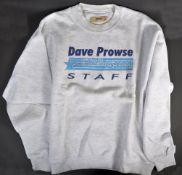 ESTATE OF DAVE PROWSE - PROWSE'S PERSONAL STAR GYM SWEATER