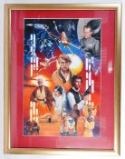 ESTATE OF DAVE PROWSE - JOHN CONWAY A NEW HOPE ORIGINAL ARTWORK