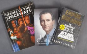 ESTATE OF DAVE PROWSE - COLLECTION OF THREE SIGNED BOOKS