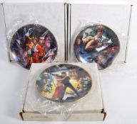 ESTATE OF DAVE PROWSE - HAMILTON COLLECTION STAR WARS PLATES