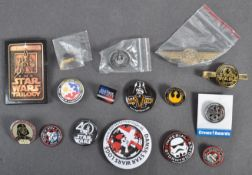 ESTATE OF DAVE PROWSE - STAR WARS - COLLECTION OF PIN BADGES
