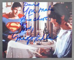 ESTATE OF DAVE PROWSE - SUPERMAN - MARGOT KIDDER SIGNED PHOTO
