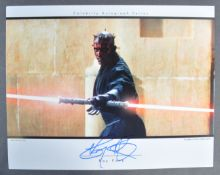 """ESTATE OF DAVE PROWSE - SEETWO OFFICIAL PIX SIGNED 11X14"""" PHOTO"""