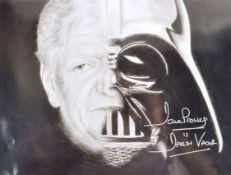 ESTATE OF DAVE PROWSE - AUTOGRAPHED ARTWORK PRINT