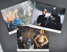 ESTATE OF DAVE PROWSE - RETURN OF THE JEDI SET OF LOBBY CARDS